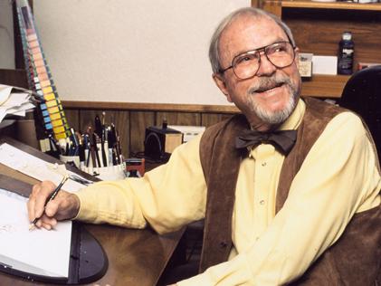 Chuck Jones and his Blackwing